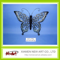 iron butterfly outdoor wall decor