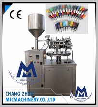MIC-L30 maximum yield automatic stainless steel aluminum tube filling and sealing machine