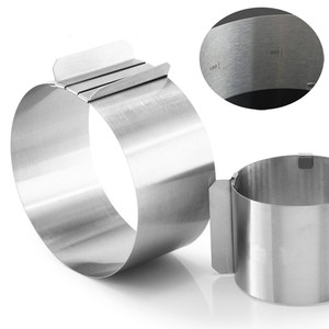 Stainless Steel Adjustable Round Cake Ring Mold