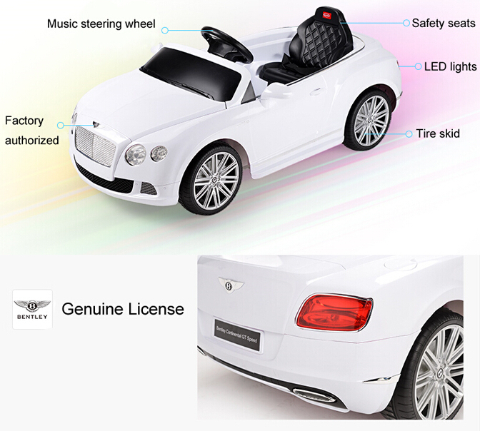 bentley ride on car 12v ride on carkids ride on remote control power