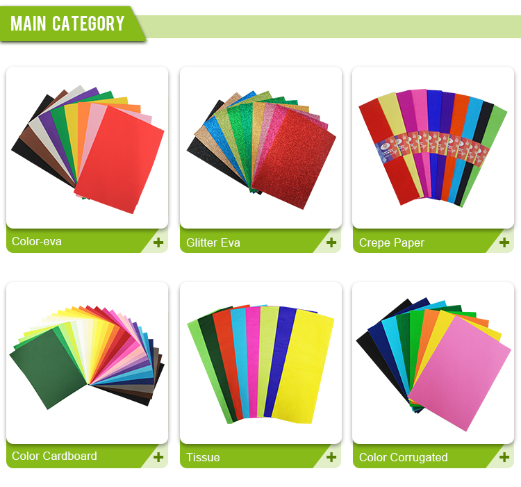 Craft color crepe paper