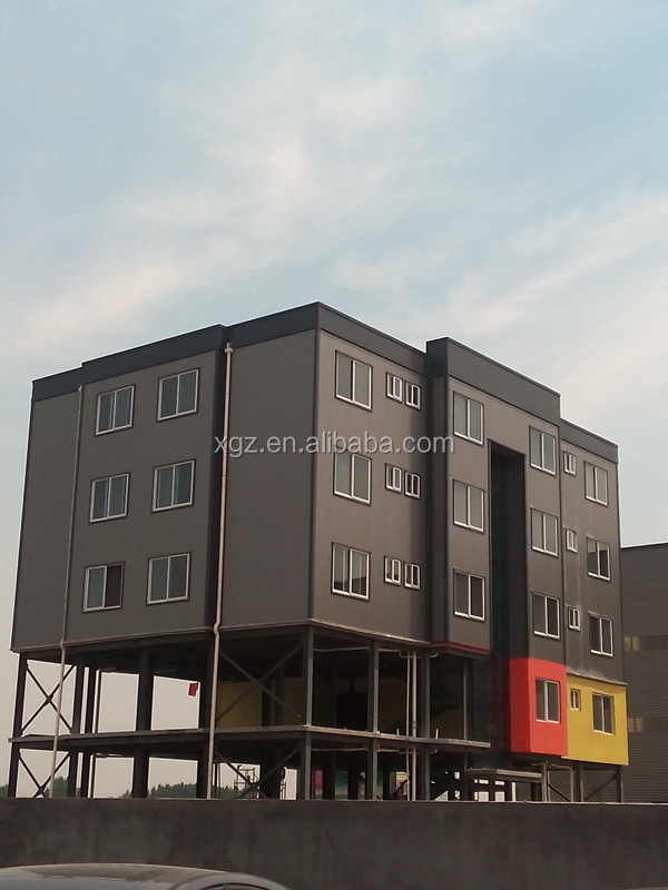 Pre Engineered Light Steel Modular Apartment Buildings Of Quality