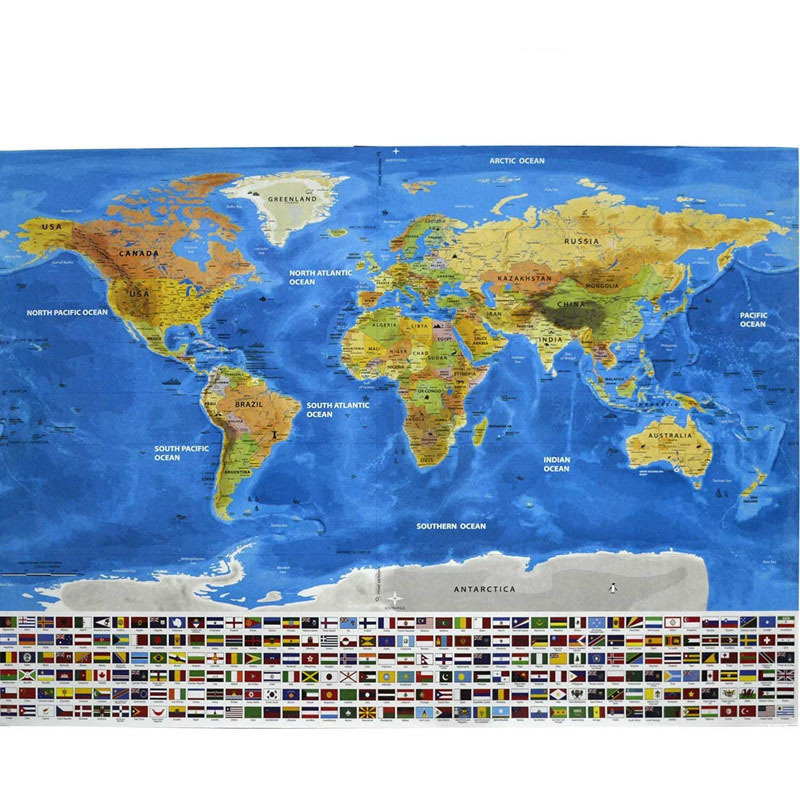 Scratch Off World Map Poster.Custom Laminated Travel Usa Scratch Off World Map Poster Buy