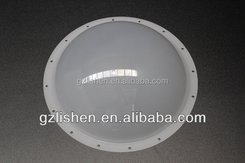 Acrylic polycarbonate milky white round dome plastic ceiling light acrylic polycarbonate milky white round dome plastic ceiling light covers aloadofball Images