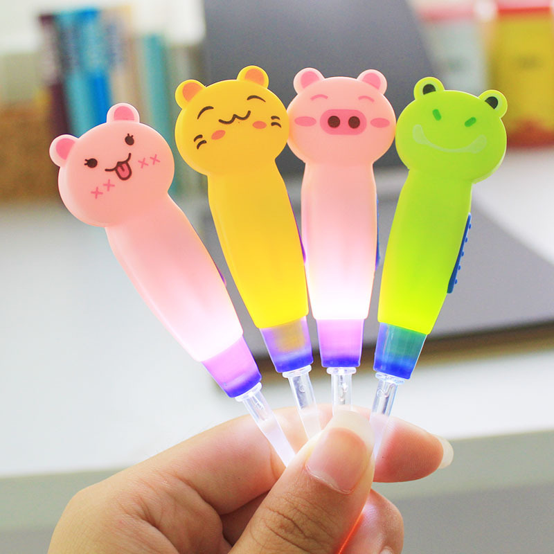 Home Cartoon Safety LED Ear Pick Cleaner/Ear Care Tool for Baby Children