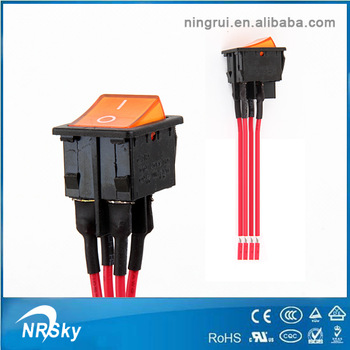 250vac 16a T100/55 Rocker Switch Wiring Diagram Supplier - Buy Rocker on