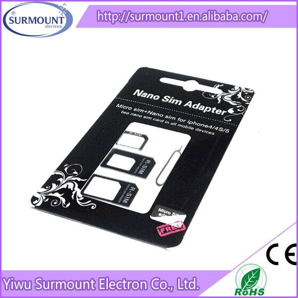 New Low Price Sd Card Nano Micro Sim Adapter High Quality Sim Card ...