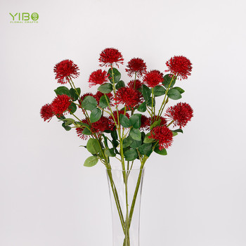 Top Grade Realistic Looking Red Plastic Natural Touch Artificial Onion Flower