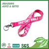 Discount Pretty Love Pink Lanyard with Logo Custom