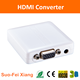 Hot sell Mini VGA to HDMI Converter Vga2hdmi Converter with Audio/video 1080P 3D