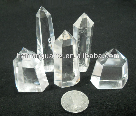 Best clear white crystal wands double terminated crystals
