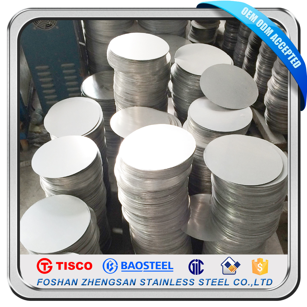 Hot New Products 2016 HL Finsh Stainless Steel Price Cold Rolled Circle