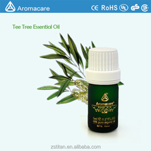 Óleo essencial de tea tree puro saudável aromaterapia 5 ml