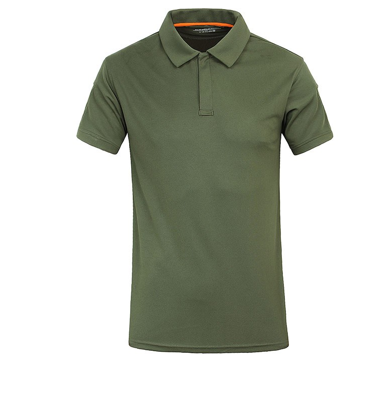 Outdoor tactical T-shirt high quality comfortable light weight fabric Polo shirt