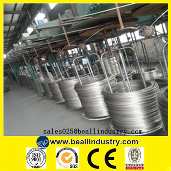 304 316 stainless steel cable wire price per meter