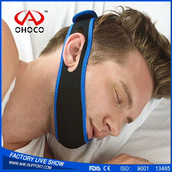 2016 Good Effect Snore Chain Strap Snoring Stopper Jaw Supporter Sleeping Product