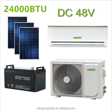 48 V DC Inverter split Zonne-energie Airconditioner 100% Solar <span class=keywords><strong>Airconditioning</strong></span>
