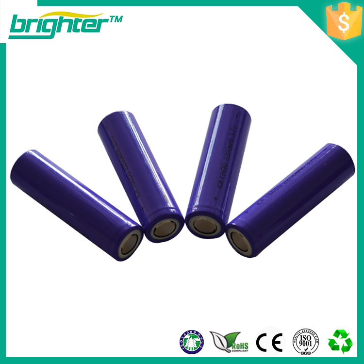 18650 Battery 3.7v Li Ion Battery 18650c4 2200mah