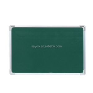 Double sided School green chalk board high quality magnetic green board blackboard school classroom writing green board