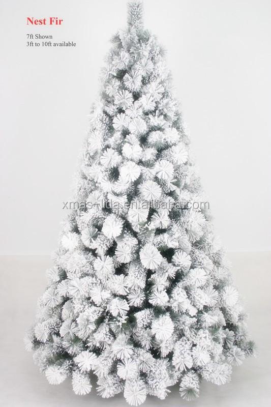 Nest Fir Pine Needle Self Snowing Christmas Tree - Buy Nest Fir Pine Needle  Self Snowing Christmas Tree,Artificial Snow Christmas Tree,Falling Snow ... - Nest Fir Pine Needle Self Snowing Christmas Tree - Buy Nest Fir Pine