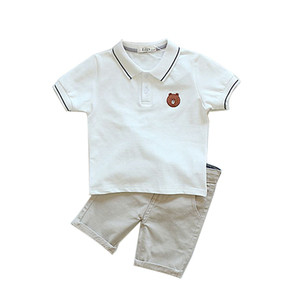 wholesale baby boy kid clothes summer children clothing set
