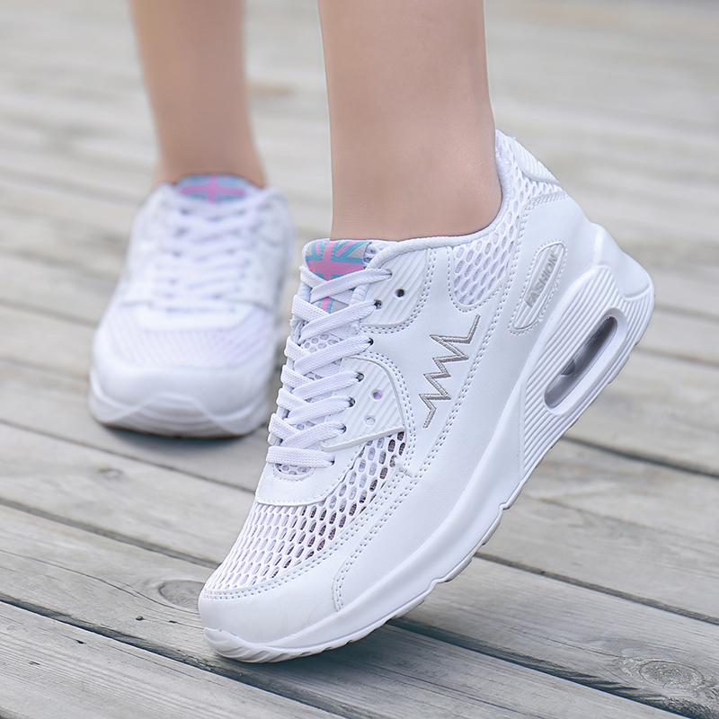 Max running shoes air sport jogging zapatos women sneaker casual shoe with PU air cushion sole