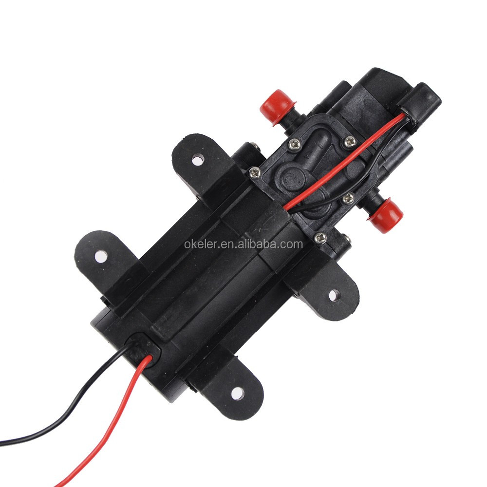 New DC 24V 6L/min 80W Micro conveying water solar energy system water pump