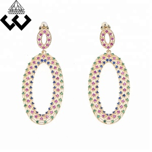 Top design Vintage gold plated Drop earring
