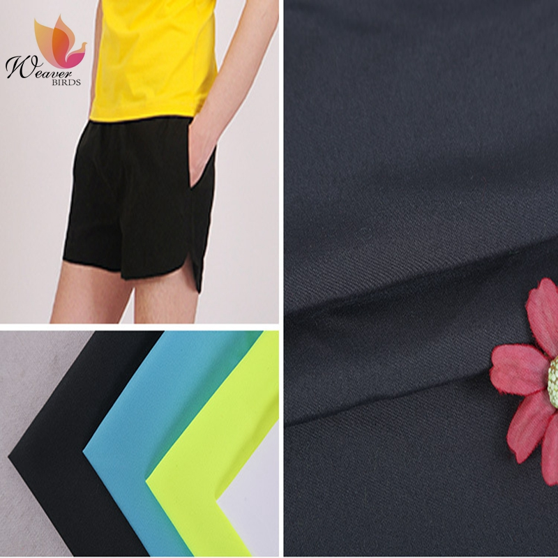 Peach Finished Colors Plain Polyester Peach Skin Fabric Breathable School Uniform Fabric Peach Skin Pillow/Beach Pants Fabric