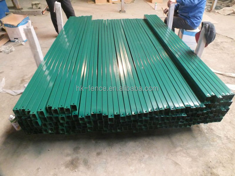 Steel Pvc Coated 4x4 Square Post For Fence Buy Pvc