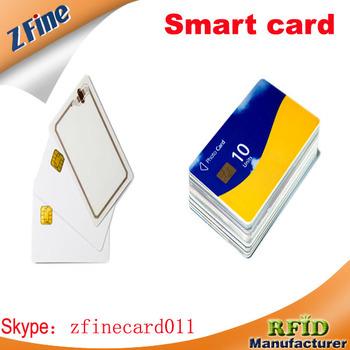 China Factory ISO Standard Plastic Contact Card Carte De Visite En Plastique Norme