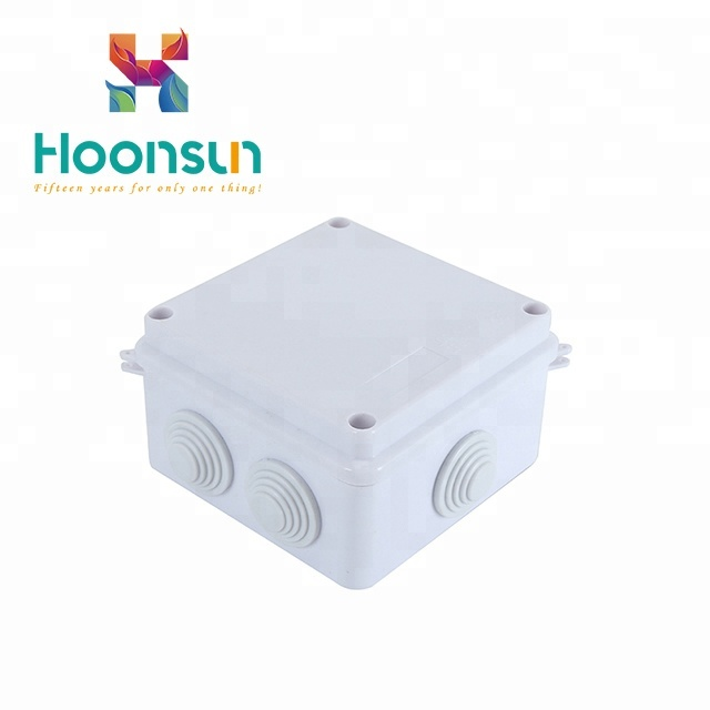 Connectors 200*200*130mm Ip66 Pvc Clear Cover Transparent Cover Abs Body Plastic Enclosure Plastic Box Reliable Performance Lights & Lighting