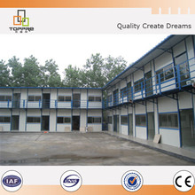 YH cheap youth hostel modular rust proof prefab domicile house for hotel