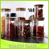 Handmade Pyrex Glass Food Storage Containers