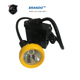 LED Waterproof Mining Headlamp 15000Lux Rechargeable Coal Miner Cap Lamp Head Hunting light for Safety Helmet, Hunting