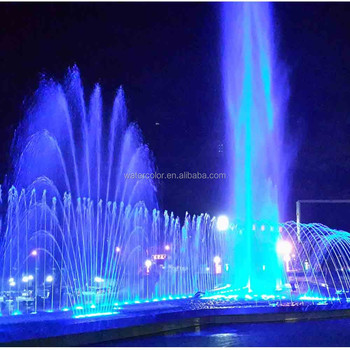 Modern Large Outdoor Water Fountains, Square Fountain And Music Dancing For  Decoration