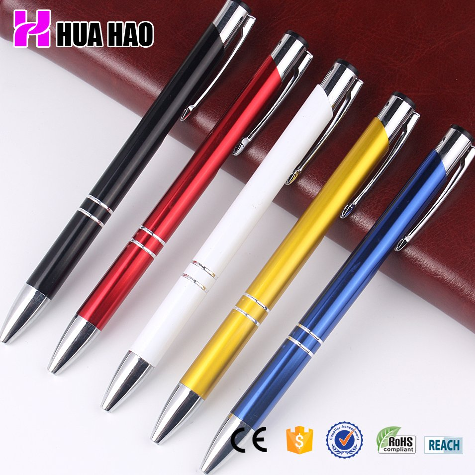 hot-selling high quality executive metal ball pen custom logo metal promotional ball pen
