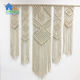 Factory supply handicraft fabric wall hanging macrame