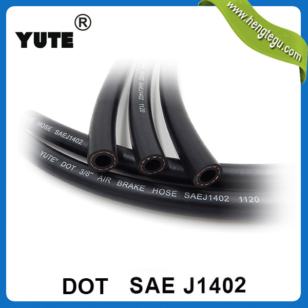 DOT approved truck 3/8 inch wholesale rubber brake hoses