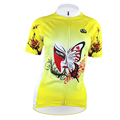 New Butterfly Makeup Alien SportsWear Womens Cycling Jersey Cycling Clothing Bike Shirt Size S To 2XL