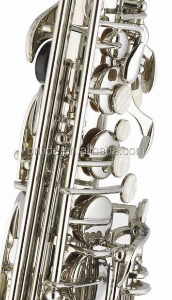 Tide music nickel silver plated  alto saxophone with case