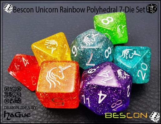 Bescon Rocce Minerale GEMMA VINES Poliedrici D & D Dadi Set di 7, RPG di Ruolo Gioco Dei Dadi 7 pz Set di RUBINO