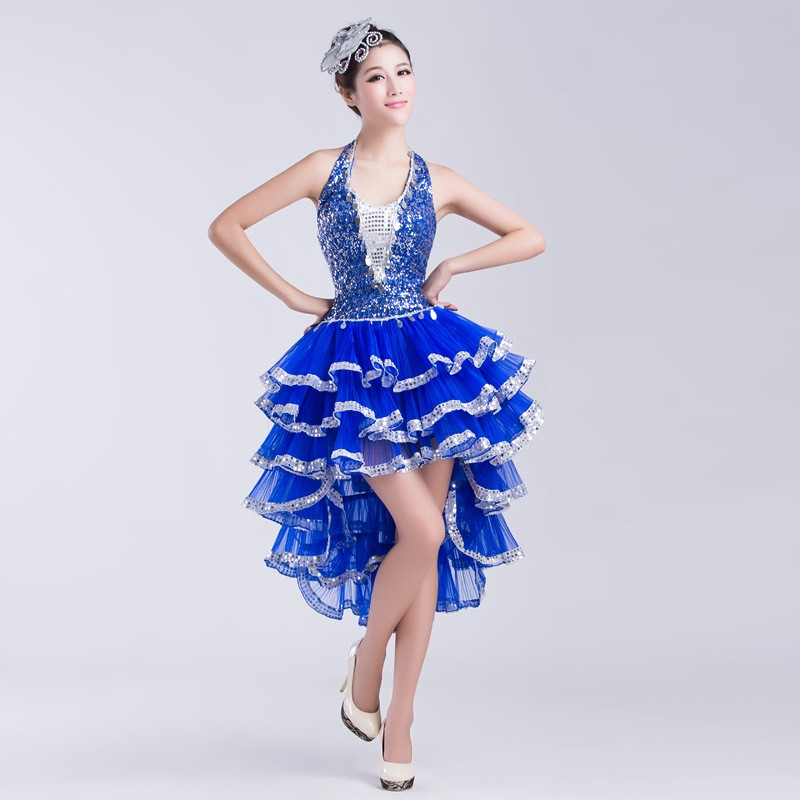 New Adult Latin Dancewear Performance Ballroom And Latin Dance Dresses For Women With Pictures