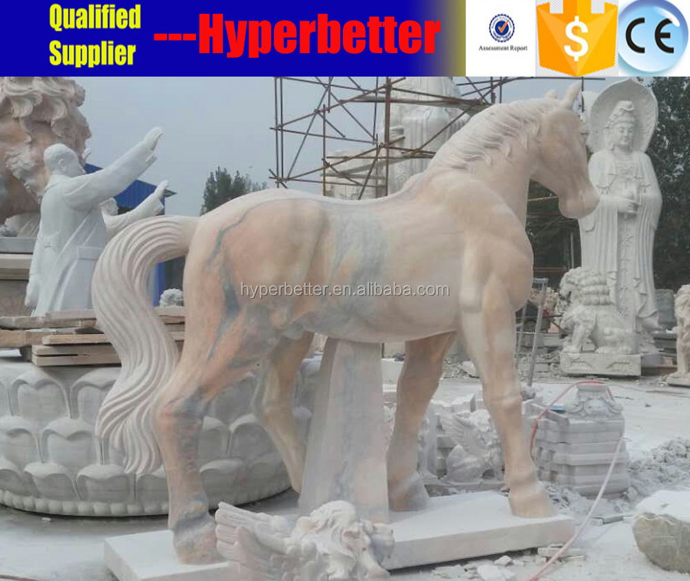 Perfect natural cock animal marble statues