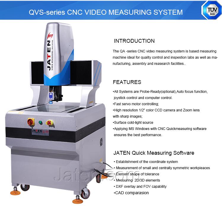 Jaten High Accuracy Cnc Video Measuring Machine With Keyence Laser - Buy  Video Measuring Machine,High Accuracy Cnc Video Measuring Machine,Keyence