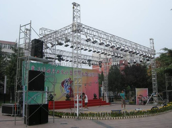 Easy Install Stage Lighting Truss Outdoor Design Steel Roof Product On Alibaba