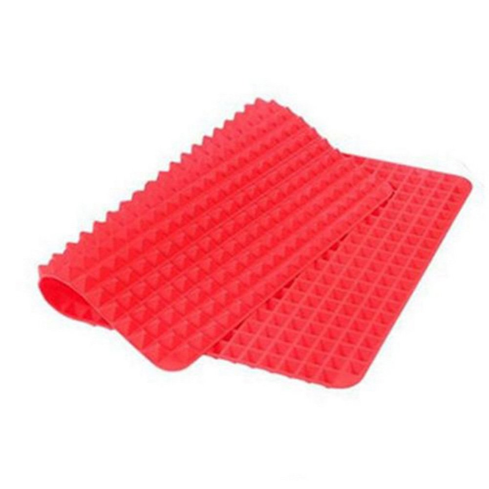 Non-Stick Silicone Baking Mat Heat-Resistant Pyramid Cooking Sheets Fat-reducing Cooking Mat