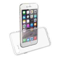 2017 hot clear tpu pc case for iphone 8, protective transparent case for iphone7/8