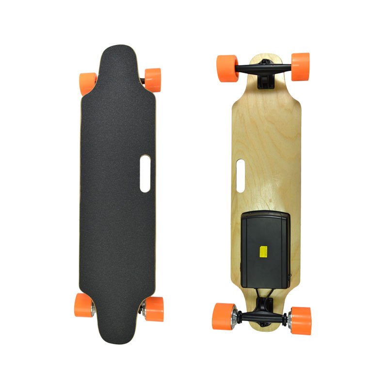 cheap and  high quality 4 wheels electric skateboard kit with battery Longboards Complete street Longboards  boosted for adults