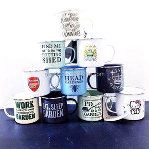 OXGIFT Wholesale Brand Enamel cup Stock and More Creative Styles Mug